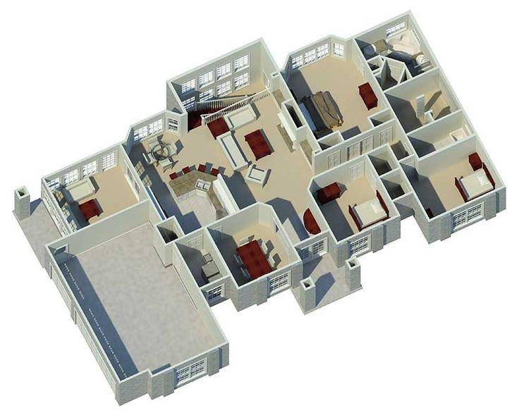 Best 25 3d house plans ideas on Pinterest Sims 4 houses layout