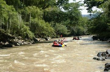 Rafting en el Rio Fonce