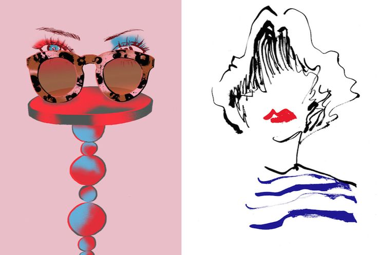 Fashion Inspired Illustrations by Eunjeong Yoo