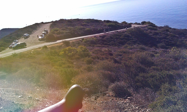 Isadore - Above the PCH #cyclingmemories