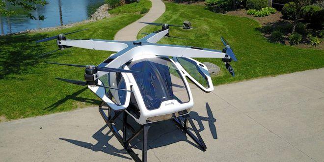 SureFly, le drone qui veut révolutionner le transport urbain