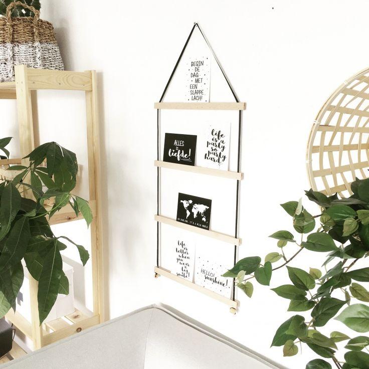 Kaartenhouder Small | Zwart lint