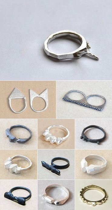 TheCarrotbox.com modern jewellery blog : obsessed with rings // feed your fingers!: Seb Brown / Daniele Geargeoura