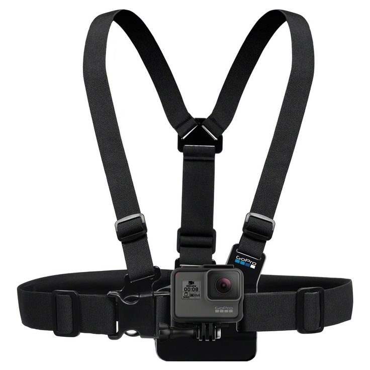 GoPro Chest Mount Harness, Black