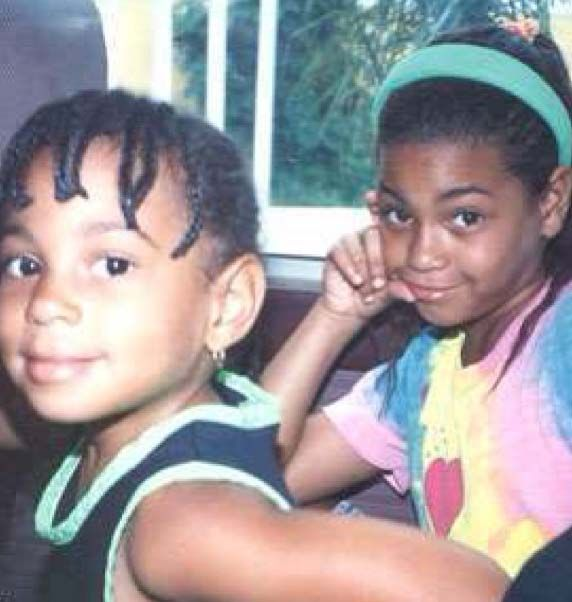 Young Beyonce and Solange