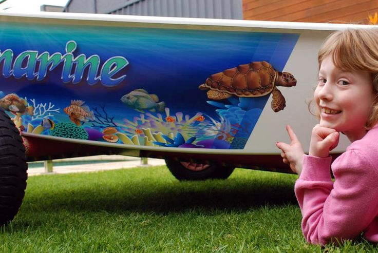 """Opti Dinghy Wrap for """"Aquamarine"""" by www.optiwraps.com"""