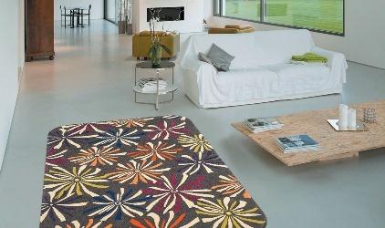 ... artesanum com tappeto floreale tappeto lana lavorazione all uncinetto