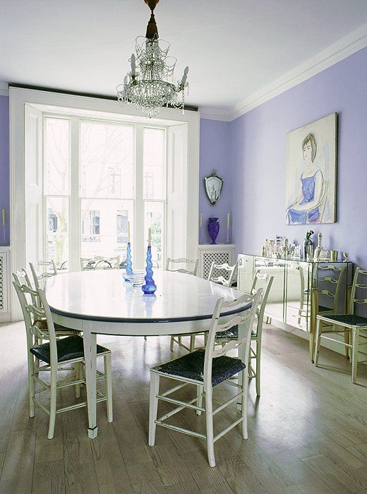 Lavender Paint Ideas For Your Home One Kings Lane: 25+ Best Ideas About Purple Dining Rooms On Pinterest