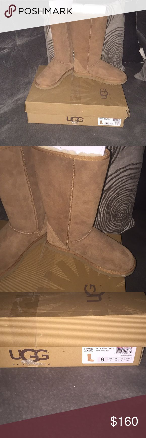 UGG Classic Tall Boots Size 9 UGG Classic Tall Boots  - New in Box!! Size 9 Brand New UGG Shoes Winter & Rain Boots