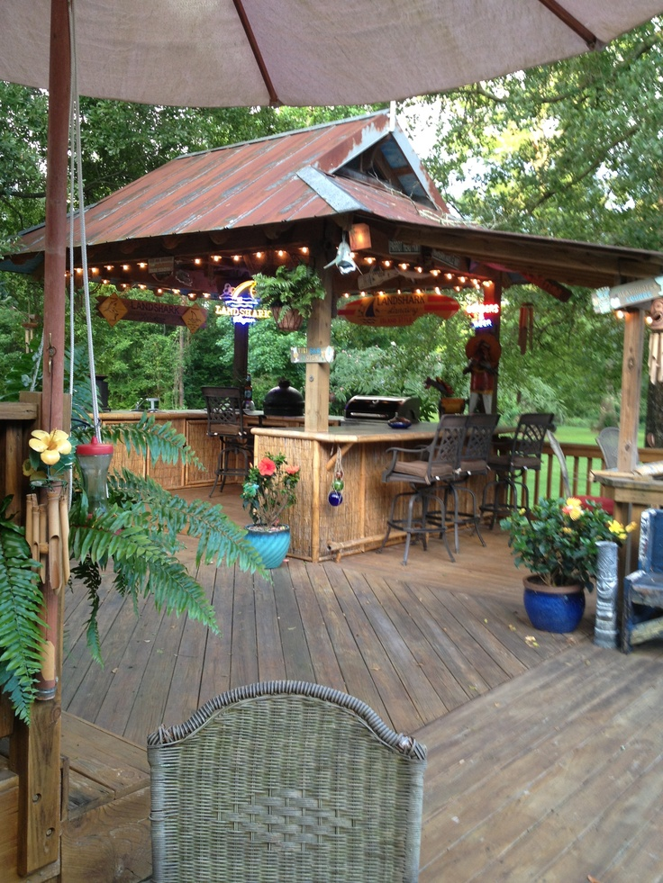 104 best images about Tiki Bar Ideas on Pinterest | Bamboo ... on Tiki Bar Designs For Backyard id=15478