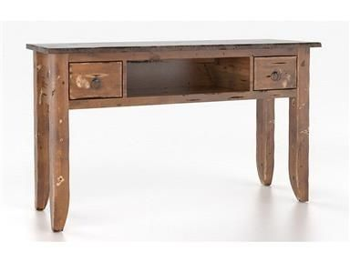 Shop+for+Canadel+Rectangular+Sofa+Table,+SRE1651-EE,+and+other+Living+Room+Tables+at+Georgia+Furniture+in+Savannah,+GA.+Product+Code:+SRE016513363DEE.+Body+Color:+33D+-+Spice+Washed.+Top+Color:+63D+-+Matte+Black.+Table+Shape:+Rectangular.+Available+Finishes:+Champlain+D.