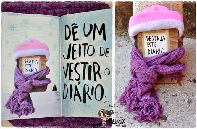 Destruindo Meu Diário   Destrua Este Diário   Wreck this journal