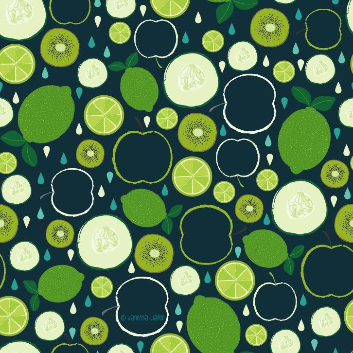 17 Best Images About Patterns │fruit On Pinterest
