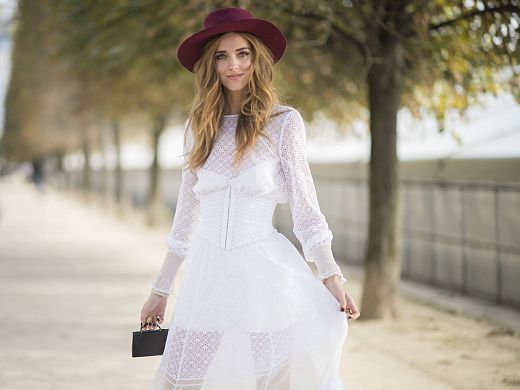 White lady: 5th look of PFW | The Blonde Salad