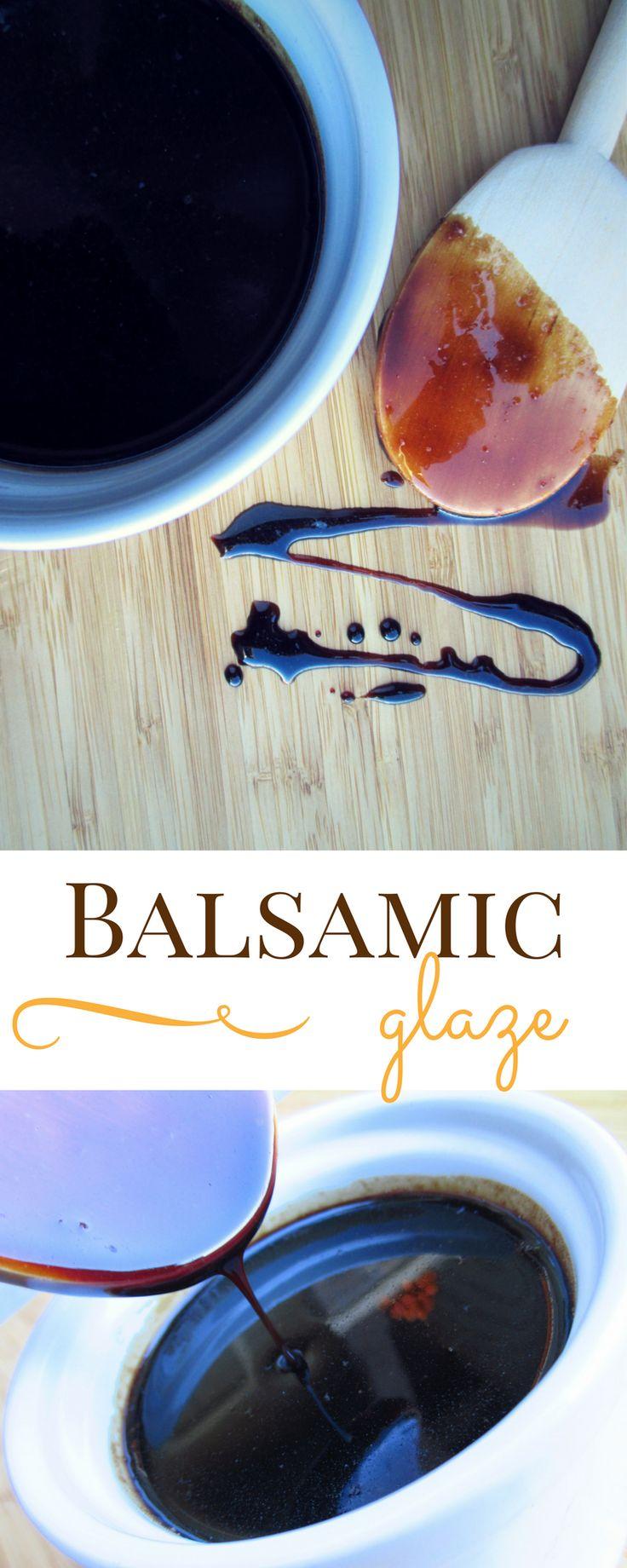 How to Make Balsamic Glaze http://hearthookhome.com/how-to-make-balsamic-glaze/?utm_campaign=coschedule&utm_source=pinterest&utm_medium=Ashlea%20K%20-%20Heart%2C%20Hook%2C%20Home&utm_content=How%20to%20Make%20Balsamic%20Glaze