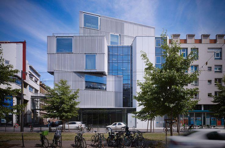 MARC MIMRAM, Julien Lanoo · École Nationale Supérieure d'Architecture de Strasbourg · Divisare
