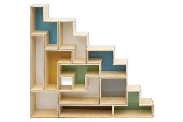 Tetris shelving.