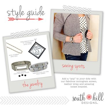 Love pairing the Locket Bracelet with our Signature Wrap Bracelet!   www.sparklingcharms.com