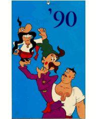 """Настенный календарь, 1990 (""""Казаки""""). Детство СССР - http://samoe-vazhnoe.blogspot.ru/"""
