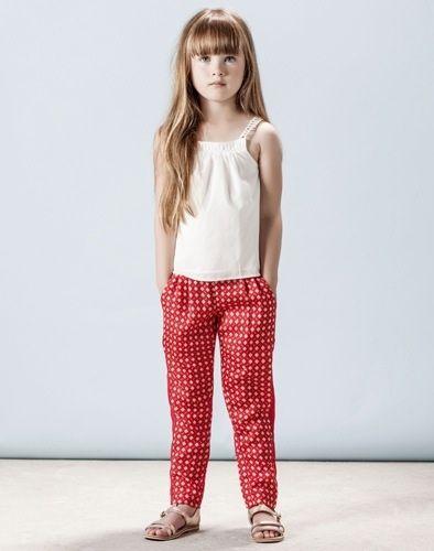 Chloé Girl SS14, ropa para niñas primavera-verano http://www.minimoda.es