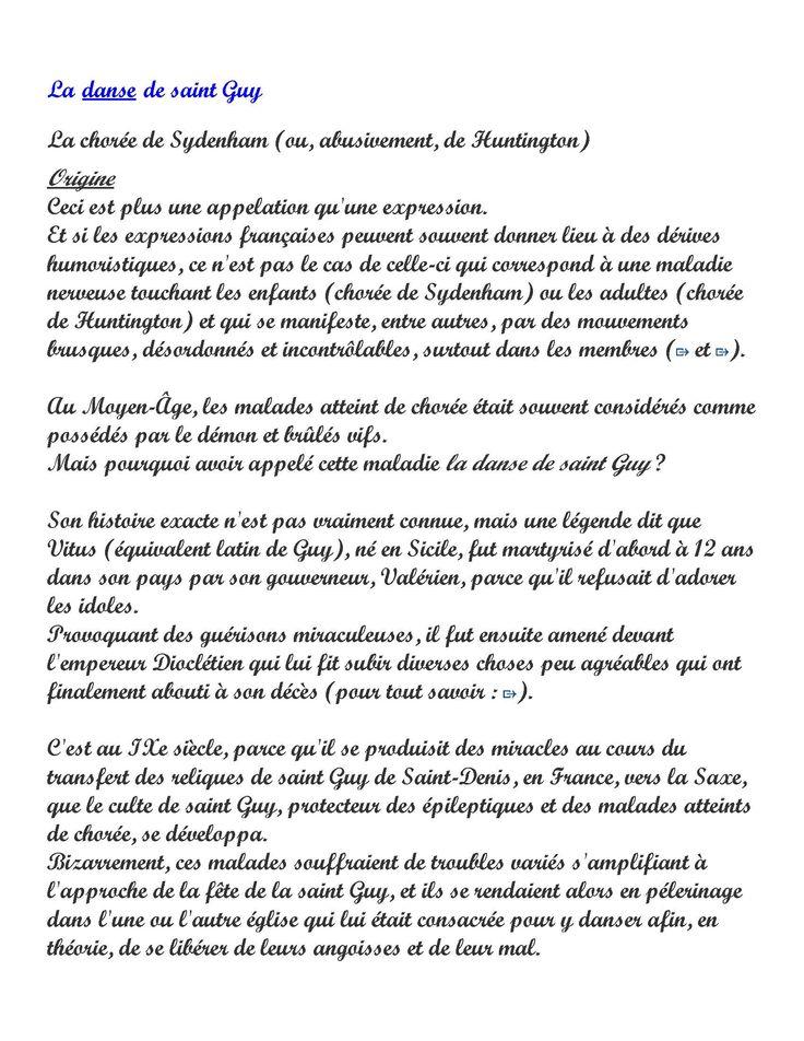 Expression du Jour 2: La danse de Saint Guy (2 pages) - Frawsy