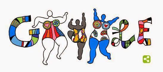 Sebagai bentuk penghormatan dan penghargaan kepada pelukis dan pembuat film Perancis, Niki de Saint Phalle, Google mengucapkan ulang tahun yang diekspresikan dalam gambar pencarian atau google doodle hari ini, (29/10)