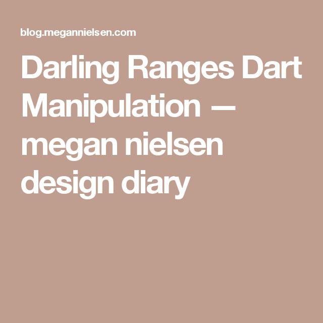 Darling Ranges Dart Manipulation — megan nielsen design diary