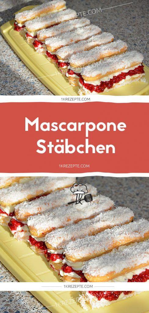 Mascarpone Stäbchen
