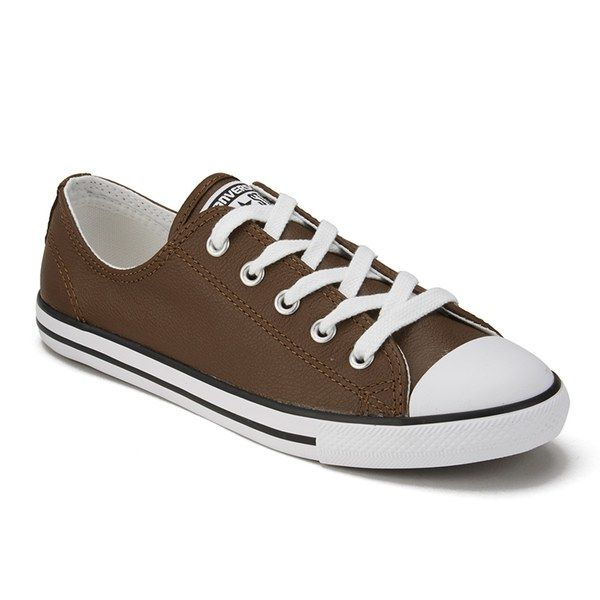 converse-brownwhite-womens-chuck-taylor-all-star-dainty-seasonal-leather-ox-trainers-brown-product-2-139397799-normal.jpeg (600×600)