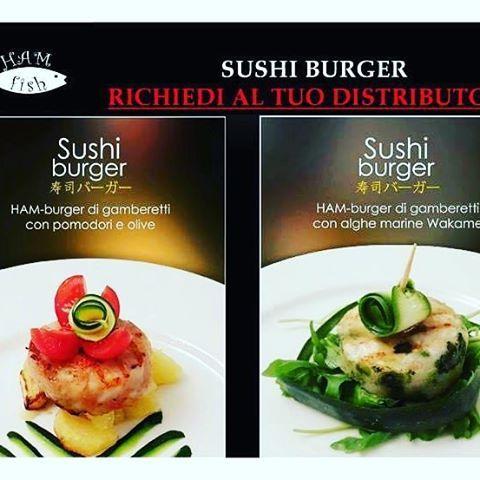 I tempi cambiano... non pensare al solito #hamburger #convenzionale! Chi ha detto che l'hamburger è fatto #solo #con #carne?! #Ham #sempre #attenta #alle #vostre #esigenze e quelle dei #vostri #clienti… #Squisiti #Sushi #Burger! #novitá #burgerlovers #foodporn #sushiburger #gamberetti #pomodori #olive #alghe #marine #wakame #gurmet  Yummery - best recipes. Follow Us! #foodporn