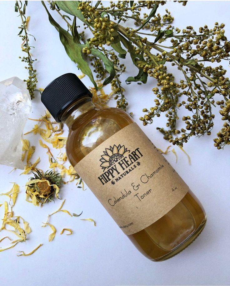Sensitive Skin Toner , Chamomile & Calendula face mist for redness