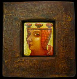 Деревянная картина «Ангел с деревом на голове», Авторские картины, Павла Николаева, Готический наив, Картины из дерева, Авторское изделие, единственный экземпляр, Резьба по дереву картины,