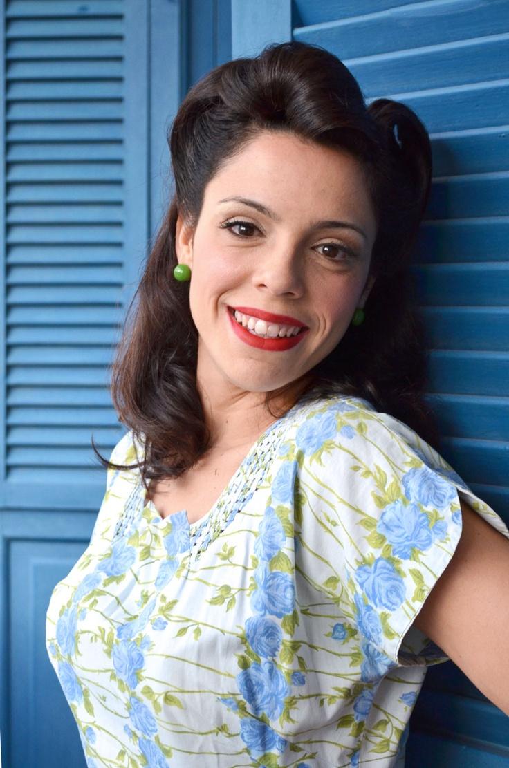 Vintage, retro, hairstyle  Beauty: Ana Avellar Neto  Fotografia: Ana Bandarra