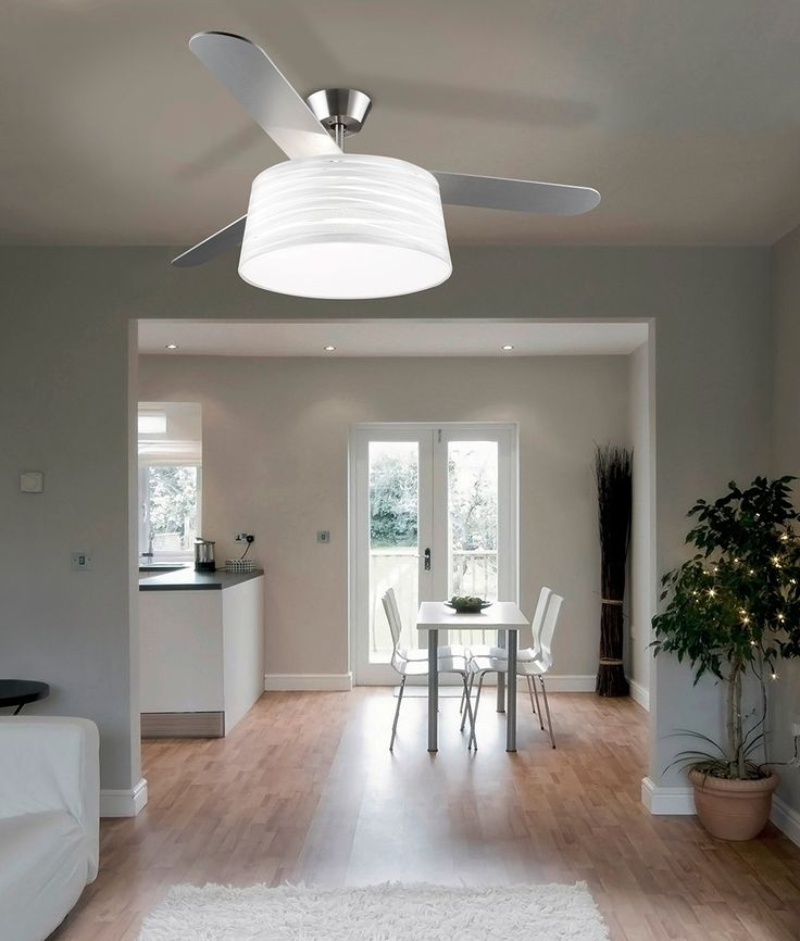 Modern Fan With Lighting Ideas For Contemporary Bedroom: 25+ Best Ideas About Modern Ceiling Fans On Pinterest