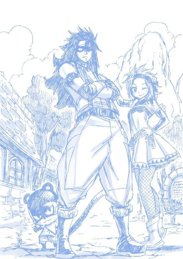 Les fées en folie ! – compilation de dessins de Fairy Tail – | Kana