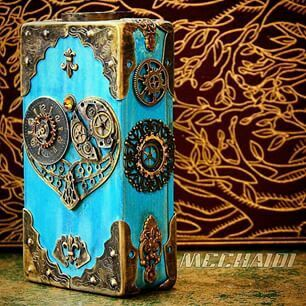 Alice steam punk vape mod
