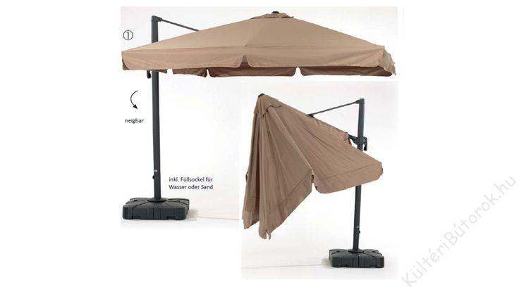 Ha borul, ha kisüt majd, a napernyő védelmet ad! :)  Roma alumínium napernyő - Több méretben!  Színe: natúr vagy taupe Méretek: - Classic: 300x300 cm - De Luxe: 300x300 cm - Dupla: 2x 300x300 cm 360 fokban elforgatható, dönthető Kiváló minőségű, időtálló vendéglátóipari bútorok akár otthoni felhasználásra is!