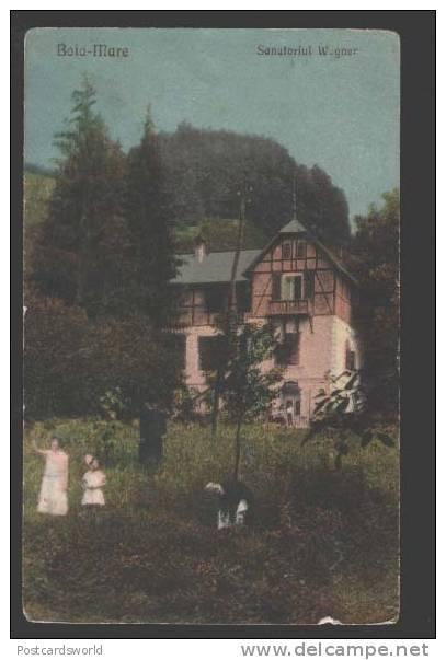 Baia Mare - Sanatoriul Wegner - interbelica