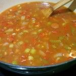 How to make gumbo out of almost anything #Gumbo #Roux with proper instruction to make a roux without the mess and hurt. This is hands down the best gumbo recipe I have ever used. You will need a minimum of #Flour #Oil #BellPepper #Onion #Carrot and #Stock.