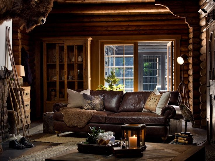 LODGE -  a rustic, country cottage inspired aesthetic. Natural woods and autumnal colour schemes play a central role.