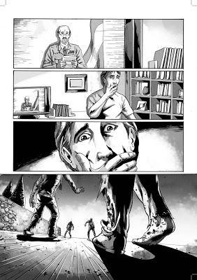 Comic de Apocalipsis Z, de Manel Loureiro.