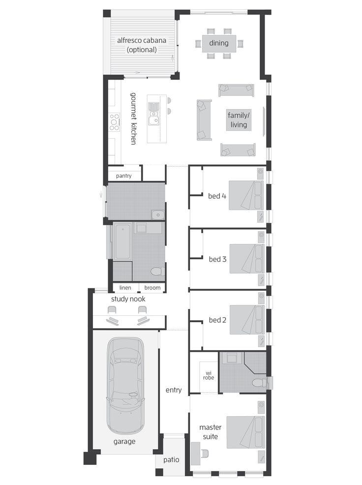 Hamilton Four - Floor Plan