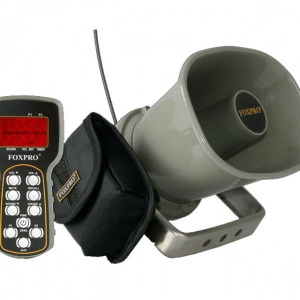 The FoxPro Hellfire Game call includes 75 calls of your choice with a 200 sound capacity. https://saffordsportinggoods.com/shop/hunting-gear/calls/predator-calls/fox-pro-hell-fire-game-call/