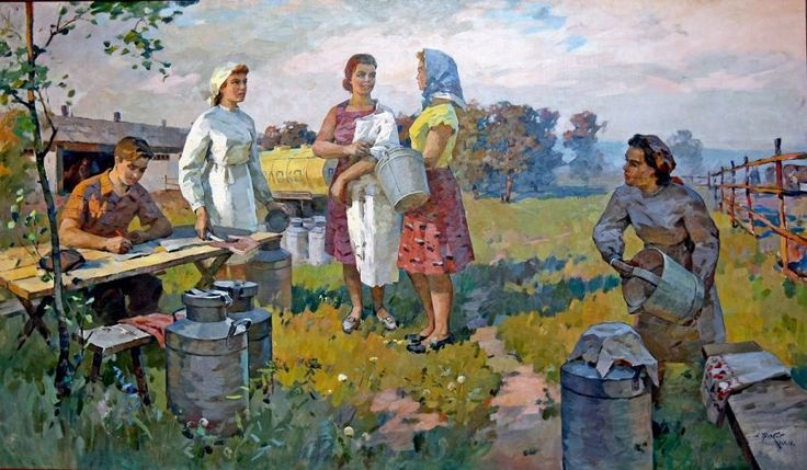 Журбий Александр Петрович :Доярки Год:1967
