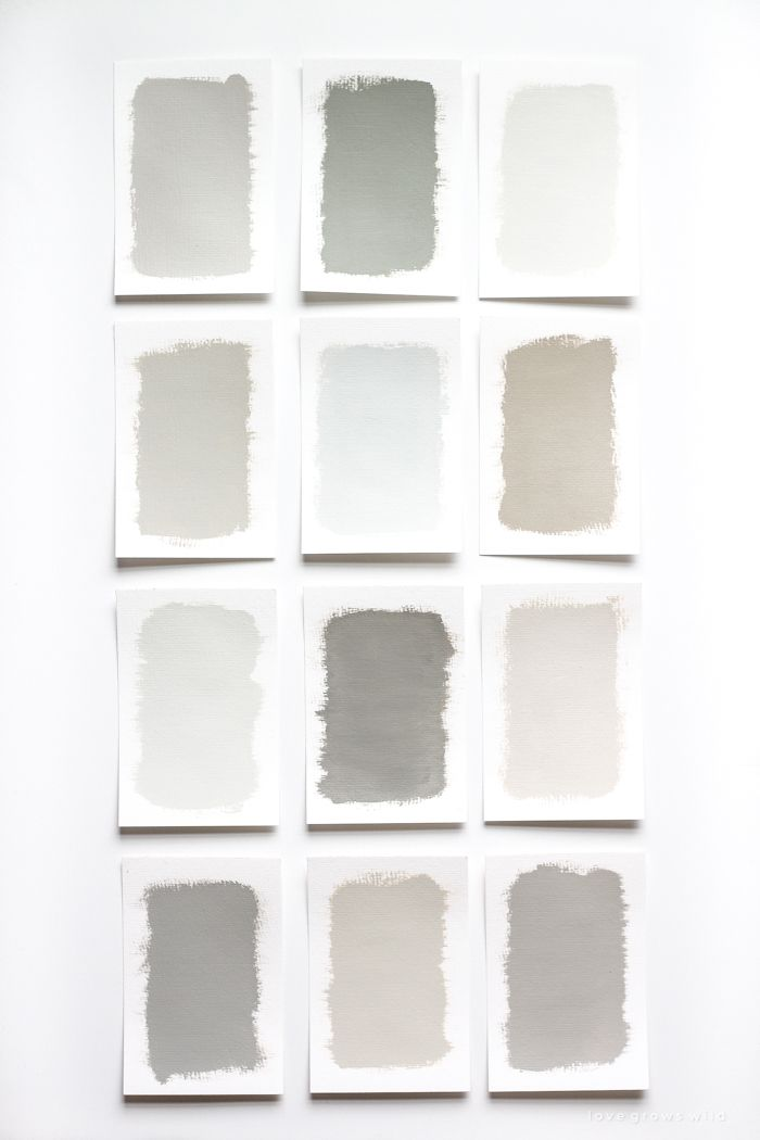 The best gray paint colors for interiors - soft grays, bold grays, modern grays,... interior paint