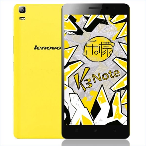Lenovo K3 Note Android Octa-Core 4G Phone w/ 2GB RAM, 16GB ROM -Yellow - Free Shipping - DealExtreme