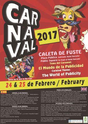 Grupo Mascarada Carnaval: El Carnaval Caleta de Fuste estrena Recinto Ferial...