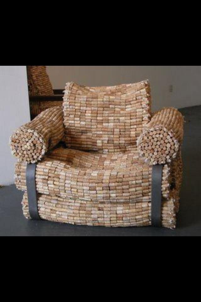 !!!! Wine Cork Chair