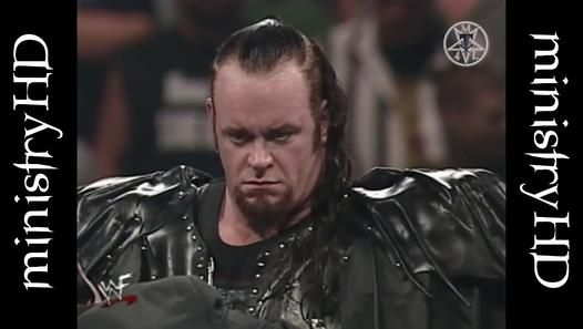Evil stare of The Undertaker at Over The Edge (1999)