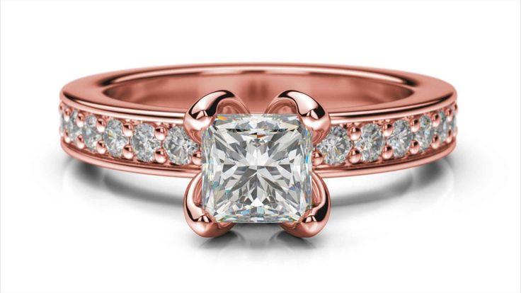 Zásnubný prsteň Iris princess